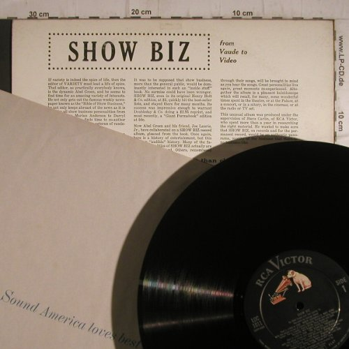 Show Biz: From Vaude to Video-Variety, RCA Victor(LOC 1011), US,  - LP - F7262 - 9,00 Euro