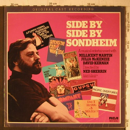 V.A.Side by Side by Sondheim: Millicent Martin,J.McKenzie..., Foc, RCA Red Seal(CBL 2/1851), UK, 1976 - 2LP - F7635 - 7,50 Euro