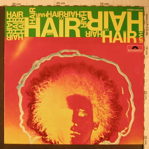 Hair: from London Musical Prod., Ri, Polydor(2459 361), D, 1968 - LP - F7868 - 5,50 Euro