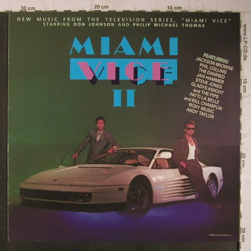 Miami Vice II: New Music From,11 Tr., MCA(254 445-1), D, 1986 - LP - F7880 - 4,00 Euro