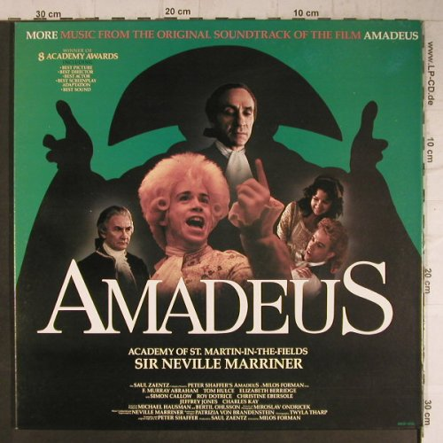 Amadeus: More Music From, Vol.2, Foc, Fantasy(WAM-1205), US, 1985 - LP - F7930 - 7,50 Euro