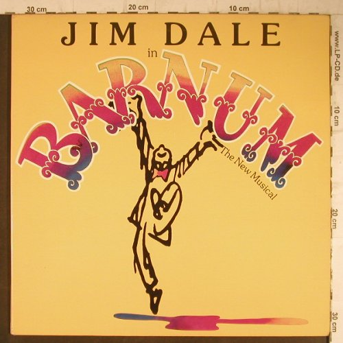 Barnum: Jim Dale in-The New Musical, Foc, CBS(JS 36576), US, 1980 - LP - F7935 - 7,50 Euro