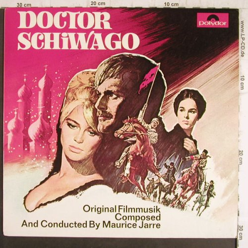 Doctor Schiwago: Comp/Cond.By Maurice Jarre,Club-Ed., Polydor(76 431), D, Ri, 1966 - LP - F8650 - 5,00 Euro