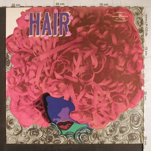 Hair: Boston Light Operatic Society, Muza(SX 1179), PL,  - LP - F8754 - 5,00 Euro