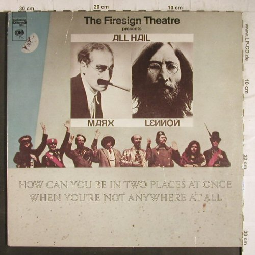 Firesign Theatre: How can you be in two places..,Foc, Columbia(PC 9884), US,vg+/vg+,  - LP - F8760 - 7,50 Euro