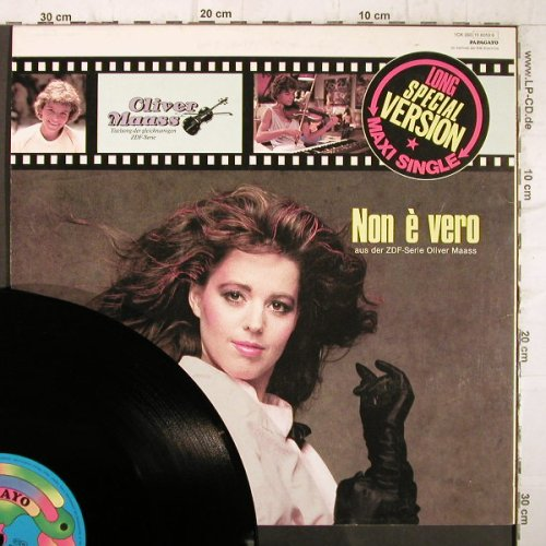Oliver Maas: Non E Vero by Lady Lily, Papagayo(15 6059 6), D, 1985 - 12inch - F9073 - 3,00 Euro