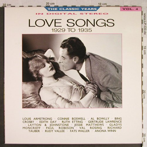 Astaire,Fred: Vol.4 - Love Songs - 1929 to 1935, BBC(REB 651), UK, 1987 - LP - H1103 - 5,50 Euro