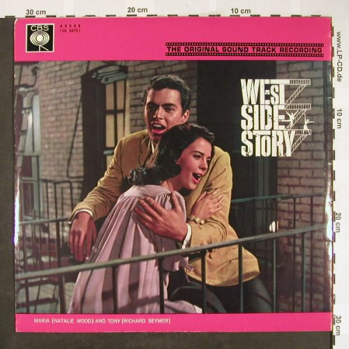 West Side Story: Original Soundtrack, Foc, m-/vg+, CBS(62 058), NL, 1965 - LP - H1838 - 5,00 Euro