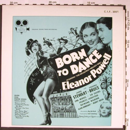 Powel,Eleanor / James Stewart: Born to Dance (1936), Classic Int.Filmmusikal(C.I.F. 3001), US,  - LP - H2089 - 7,50 Euro