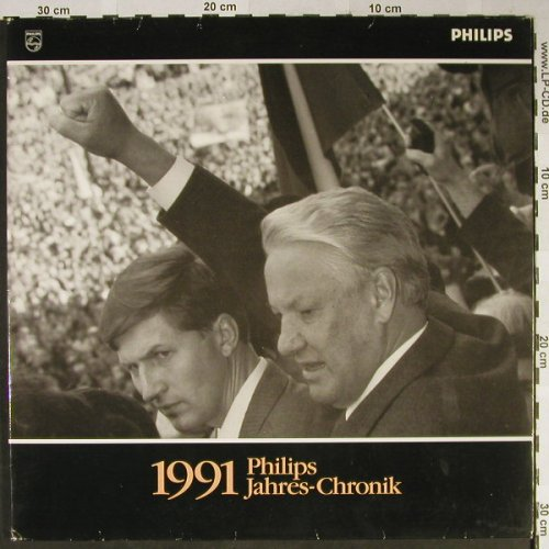 V.A.Philips Jahres-Chronik 1991: O-Töne, Foc, Philips,IIA1991(434 701-1), D,Booklet, 1991 - LP - H2285 - 5,00 Euro