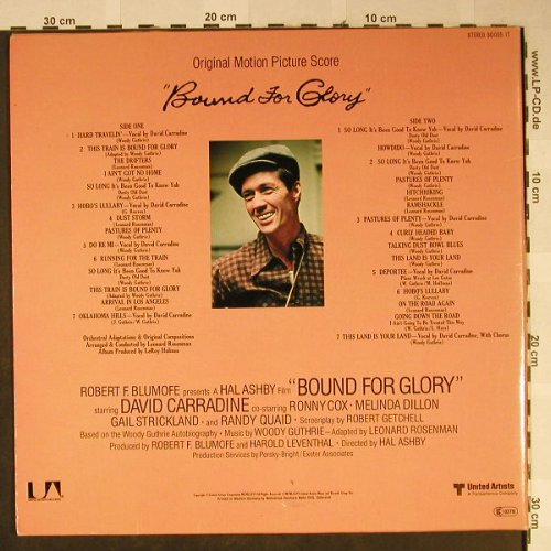 Bound For Glory: Music By Woody Guthrie, Foc, UA(30 035 IT), D, 1976 - LP - H2311 - 7,50 Euro