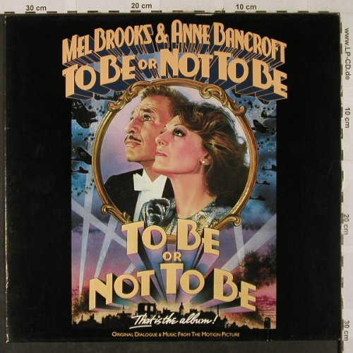 To Be Or Not To Be: Mel Brooks, Island(206 093-320), D, 1983 - LP - H2873 - 7,50 Euro