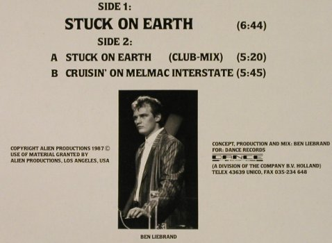 ALF: Stuck on Earth*2(Housemix)+1, RCA(PT 41664), D, 1987 - 12inch - H4154 - 4,00 Euro