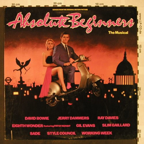 Absolute Beginners: The Musical-Bowie ..J.Dammers, EMI(SV-17182), US, CO, 1986 - LP - H4420 - 6,00 Euro