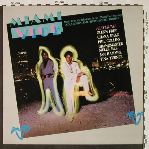 Miami Vice: Original Soundtrack,11 Tr., MCA(252 493-1), D, 1985 - LP - H4459 - 5,00 Euro