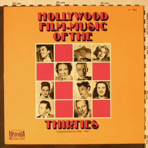 V.A.Hollywood Film-Music of the30's: 1935-37-Allan Jones...Bing Crosby, Historia(H-640), D,  - LP - H4735 - 5,50 Euro