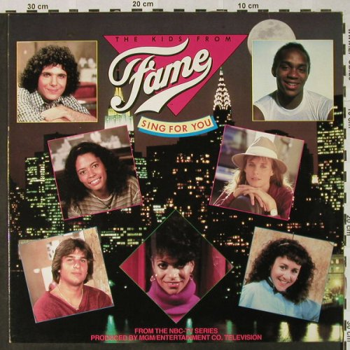 Fame - The Kids from: Sing for You, Foc, RCA(PL 89 256), D, 1983 - LP - H4736 - 5,00 Euro