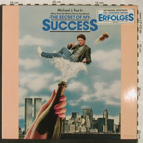 The Secret Of My Success: Night RangerTaxxi, MCA(254 720-1), D, 1987 - LP - H5056 - 5,00 Euro