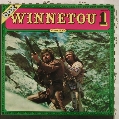 Karl May: Winnetou 1, n.Peter Folken, box(120 212), D,  - LP - H5072 - 6,00 Euro