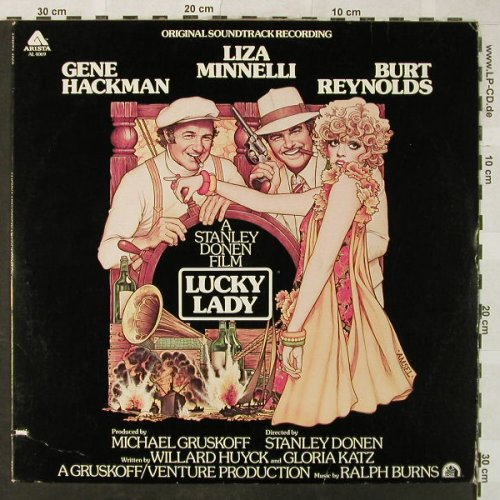Lucky Lady: Original Soundtrack, Arista(AL 4069), US, co, 1976 - LP - H5273 - 4,00 Euro