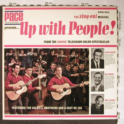 Up with People: From the Schick Telv.colSpectacular, Pace Magazine(1101), US, 1965 - LP - H5560 - 9,00 Euro