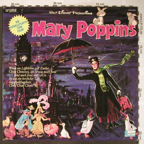 Mary Poppins: Walt Disney's,i.deutsch,Filmfassung, Disneyland/Crystal(STMA 9708), D, 1973 - LP - H6094 - 9,00 Euro