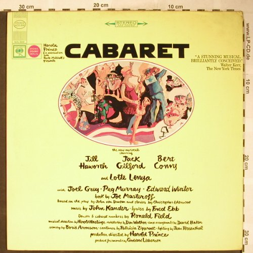 Cabaret: Orig.Broadw.Cast,Haworth,Gilford..., Columbia(KOS 3040), US, 1972 - LP - H6124 - 7,50 Euro