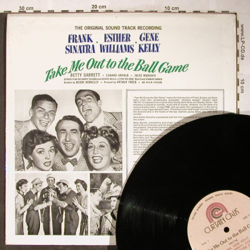 Take Me Out to the Ball Game: SinatraF.,Ester Williams,Gene Kelly, Curtain Calls(100/18), US,  - LP - H6125 - 7,50 Euro