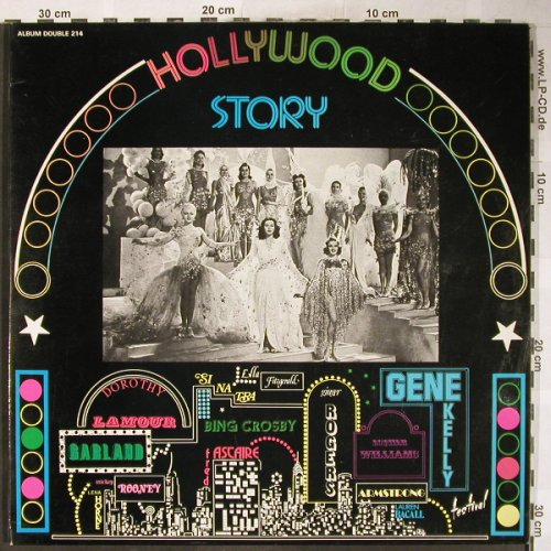 V.A.Hollywood Story: Fred Astaire...Frank Sinatra, Foc, Festival(214), F,  - 2LP - H6155 - 7,50 Euro