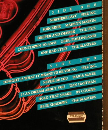 Streets Of Fire: Fire Inc. ...The Blasters, MCA(250 825-1), D, 1984 - LP - H6352 - 5,00 Euro