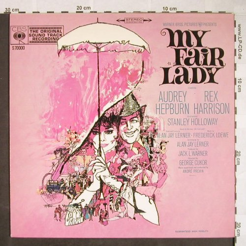 My Fair Lady: A.Hepburn,R.Harrison, OST recording, CBS(S 7000 0), NL, Ri, 1964 - LP - H63 - 5,00 Euro