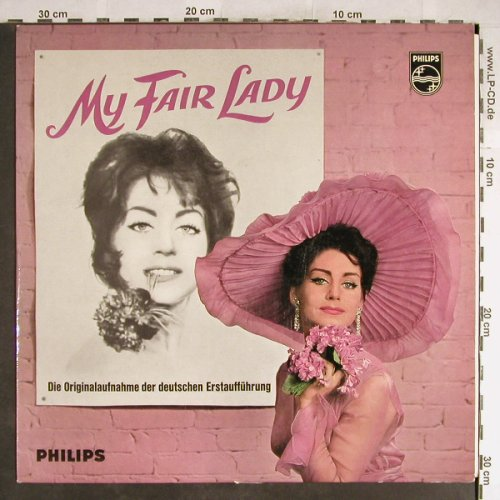 My Fair Lady: Origin.Theater d.Westens(Plakat), Philips(S 08 644 L), D, Mono,  - LP - H6444 - 6,00 Euro