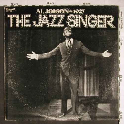 Jolson,Al  - 1927: The Jazz Singer, Foc, vg+/vg+, Sountrak(ST-102), US, 1974 - 2LP - H7839 - 1,00 Euro