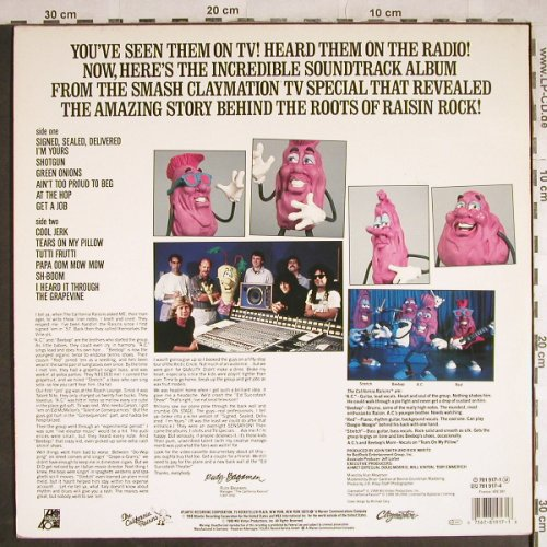 Raisins: Meet The Raisins!,Hist.Soundtrack, Atlantic(781 917-1), D, 1988 - LP - H8272 - 5,00 Euro