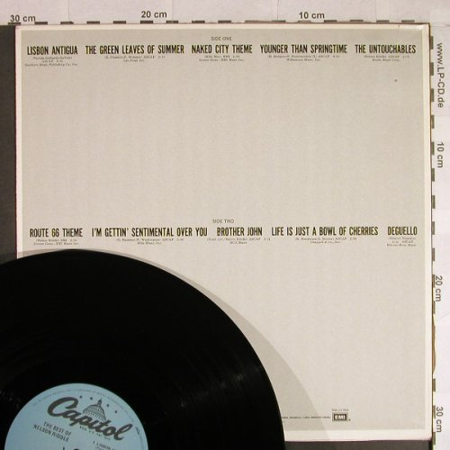 Riddle,Nelson: The Best of, Capitol(SM-11764), US, Ri,  - LP - H864 - 7,50 Euro