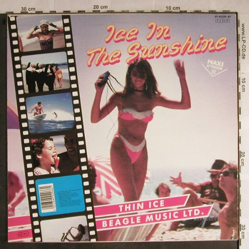 Beagle Music Ltd.: Ice In The Sunshine+1, RCA(PT 40296 AF), D, 1985 - 12inch - H8816 - 2,50 Euro