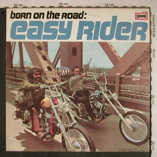 Easy Rider: Born On The Road, V.A., vg+/m-, Europa(E 443), D,  - LP - H9419 - 5,00 Euro