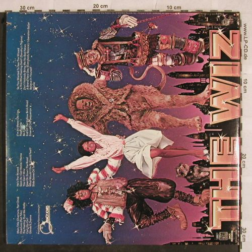 Wiz,The: Original Soundtrack,Foc, MCA(MCA2-14000), US, co, 1978 - 2LP - H9698 - 7,50 Euro