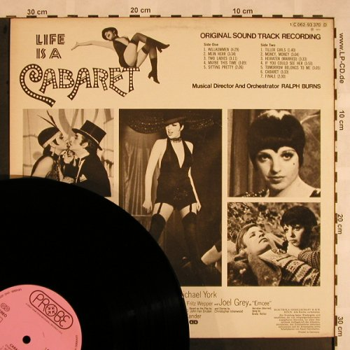 Cabaret: Original Sound Track Recording, Probe(C 062-93 370), D, 1972 - LP - X1125 - 7,50 Euro