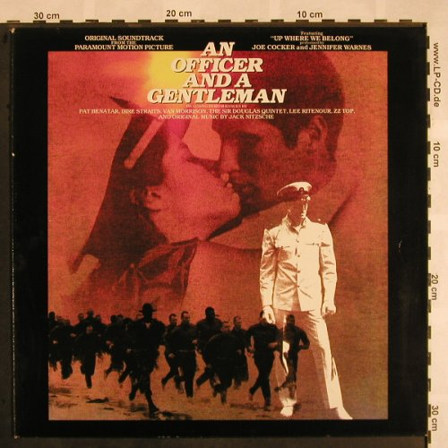 An Officer And A Gentleman: Original Soundtrack, Island(205 209-320), D, 1982 - LP - X1130 - 5,00 Euro