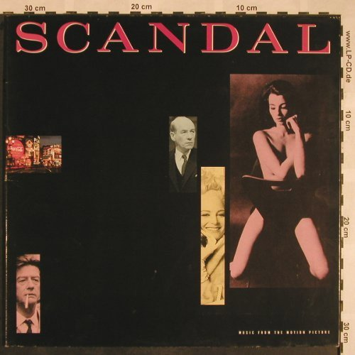 Scandal: Music from Motion Picture, Foc, EMI(7 91916 1), EEC, 1989 - LP - X1206 - 5,00 Euro