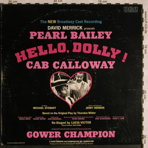 Hello Dolly: The New Broadway Cast Recording, RCA(ANL1-2849), US,m-/vg+,  - LP - X1214 - 5,50 Euro