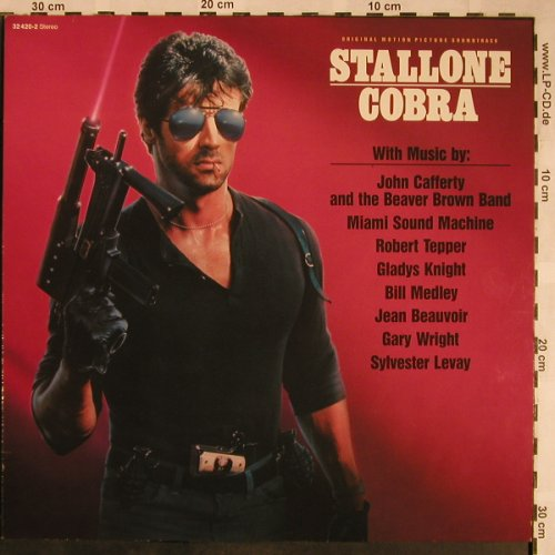 Cobra: Original Soundtrack, Scotti(32 420-2), D, 1986 - LP - X1478 - 5,00 Euro