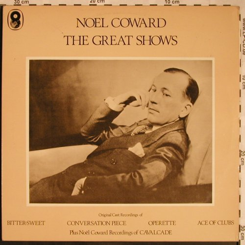 Coward,Noel: The Great Shows, Foc, Mono, EMI(SH.179/180), UK,  - 2LP - X1484 - 7,50 Euro