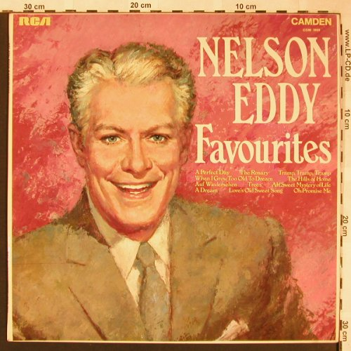Eddy,Nelson: Favorites, RCA Camden(CDM1009), UK, Mono, 1969 - LP - X1571 - 5,00 Euro