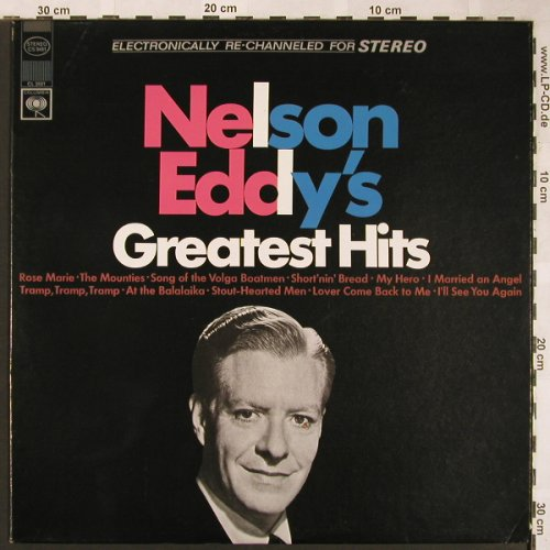 Eddy,Nelson: Greatest Hits, Columbia(CS 9481), US,  - LP - X1573 - 5,00 Euro