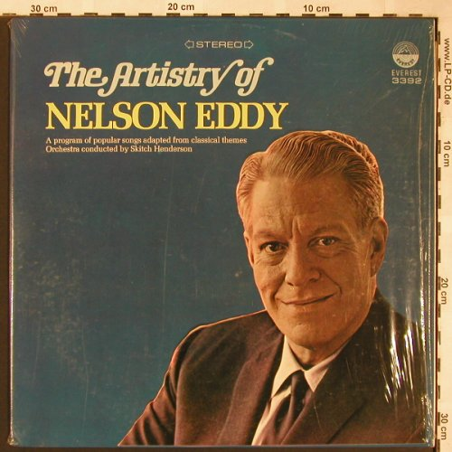 Eddy,Nelson: The Artistry of, Everest(3392), US,  - LP - X1574 - 5,00 Euro