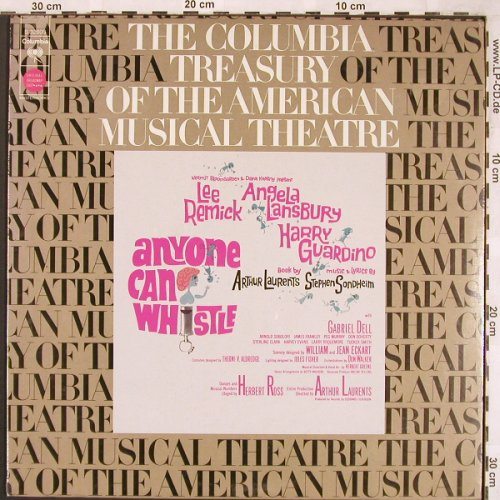Anyone Can Whistle (Sondheim): Original Broadway Cast'64, FS-New, Columb.(S 32608), US, 1973 - LP - X1826 - 8,00 Euro