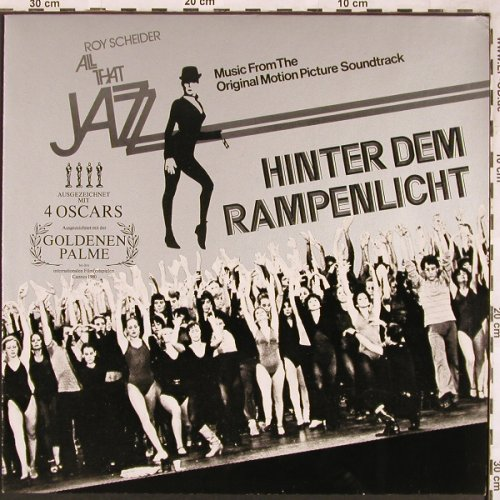 All That Jazz - Roy Scheider: Hinter dem Rampenlicht, Casablanca(9128 045), D,  - LP - X1827 - 5,00 Euro