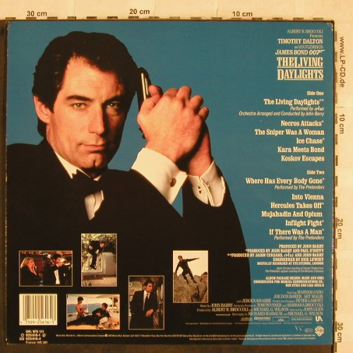 James Bond: The Living Daylights, WB(925 616-1), D, 1987 - LP - X182 - 5,00 Euro